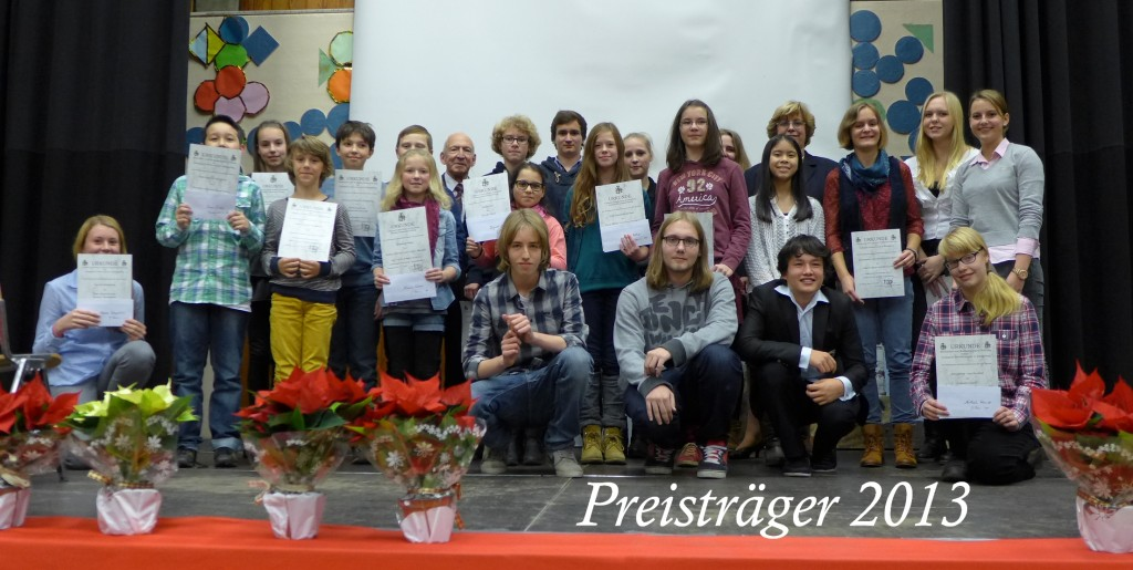 Friderizianer Preisträger 2013